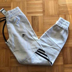 Adidas Beige Women's Sweatpants